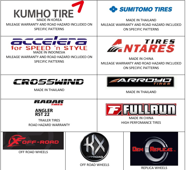 Tires By Brand >> Gulf Tire Distributors Lafayette Home